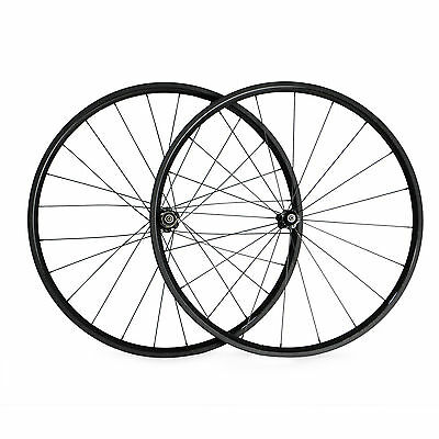 23mm Width 24mm Clincher Carbon Wheels Bicycle Road Bike Standard 700C Wheelset