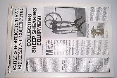 Farm & Horticultural Equipment Collector Magazine Issue 8  May/June 1993