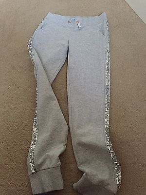 Girls Grey Jogging Bottoms From M&S