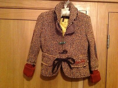 the most amazing girls tweed jacket by miss sixty age 6