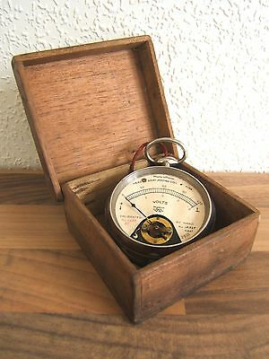 Vintage French Moving Coil Pocket / Fob  Watch Style - Needs Calibrating - Boxed