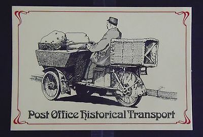 Postcard. Transport