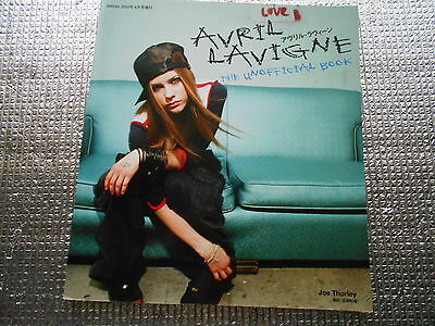 AVRIL LAVIGNE THE UNOFFICIAL BOOK 2005 Used JAPAN