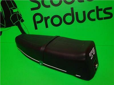 Pascoli Italy Bench Seat For Vespa T5 Mark 1 C/w Logo Quality Seat