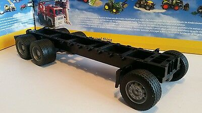 Bruder 6x4 bare chassis,  long, , suit Tamiya/Wedico 1/14, 1/16  RC conversion.