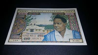 Cameroun 5000 Francs VF-XF - Scarce in this grade!