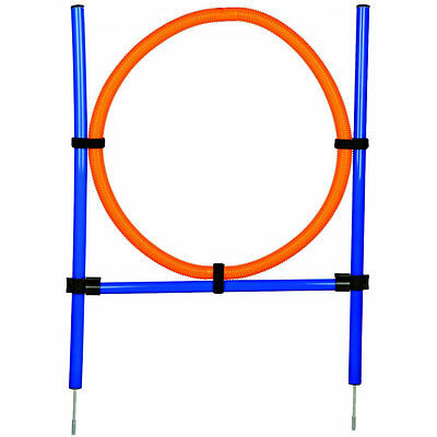 Dog Agility Adjustable Hoop Jump Exercise Equipment Obedience/Show Training