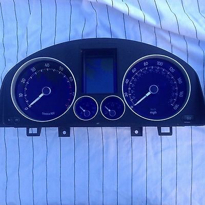 Vw Golf R32 Instrument Cluster Speedometer Clock 1K6920974B