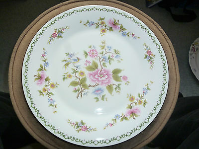Vintage Royal Vale Bone China Plate With Beautiful Flower Pattern