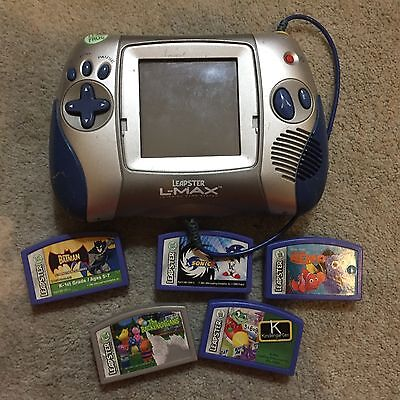 Leapster LeapFrog L-Max Handheld System w/ Games