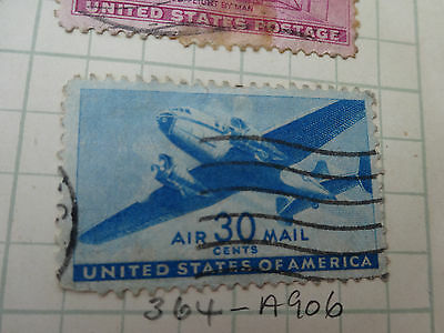 STAMP: UNITED STATES   30c  AIRMAIL   BLUE