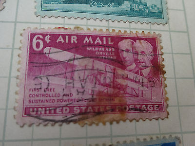 Stamp: United States   1949     6C   Wright Brothers
