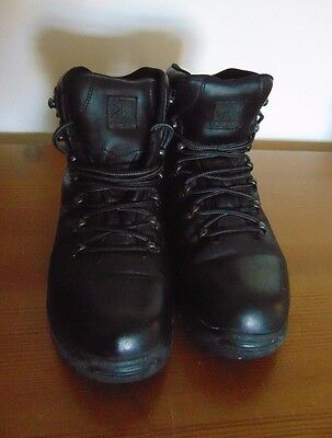 Karrimor Black Leather walking Boots Size 6 Excellent Condition