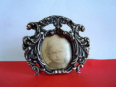 old RARE Russian 84 Silver Photo Frame, Romanov dyansty period
