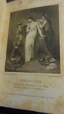 1821 Leather Bound The Works Of Lord Byron Beautifully Illustrated