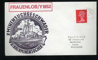 1960's Cachet Shipping Cover Frauenlob/Y1652