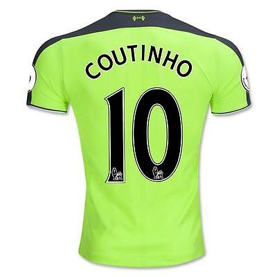 Liverpool COUTINHO Third Soccer jersey Size:L