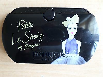 Genuine BOURJOIS Le Smoky 8 Colours Eyeshadow palette & Panoramic Mirror NEW