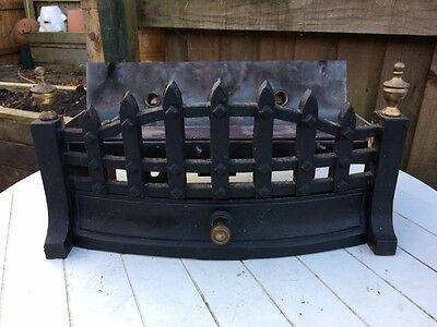 Cast Iron Dog Grate style gas fire