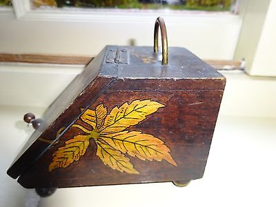 Victorian/Edwardian match box, 'Go to bed'