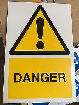 Warning Sign - DANGER - 300x200mm Safety Signs