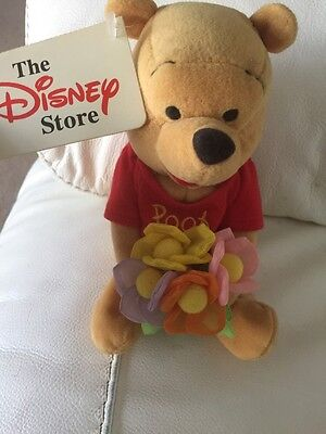 Disney Store Mothers Day Winnie The Pooh Soft Toy With Tags