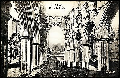 The Nave -Rievaulx Abbey - Series Valentine's Yorkshire