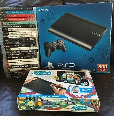 PlayStation PS3 500gb console Bundle