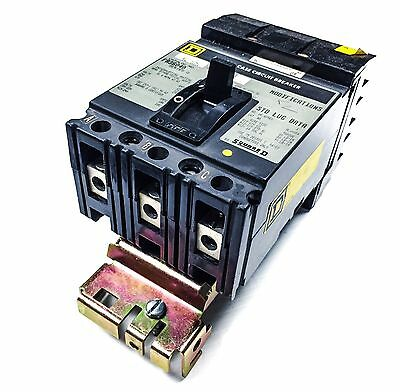 SQUARE D FA36040 3 Pole 40 Amp 600VAC Circuit Breaker
