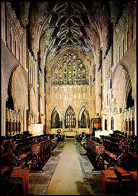 Wells Cathedral -The Choir With Golden East Window