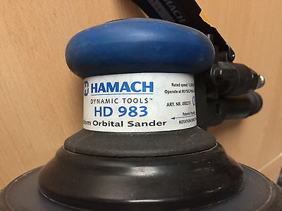 HAMACH 000215 Exzenterschleifer ø 150mm 2,4mm Hub HD 983