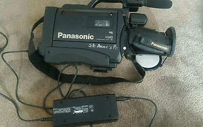 Panasonic professional VHS Camcorder VW-SHM20 with Case