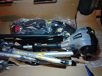 Titan 4 in 1 multitool strimmer brushcutter chainsaw hedge trimmer nice conditio