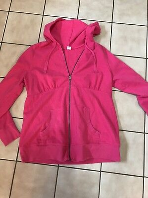 Old Navy Maternity Zip Up Maternity Hoodie Size Large L