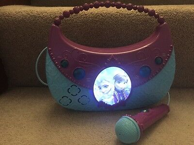 childs frozen karaoke mp3 player