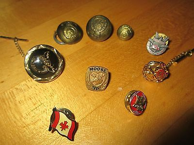 Antique & Vintage Military Police Uniform Canada Canadian Royal Dragoons Buttons