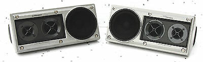 Vintage Pioneer Component Ts-X11 Solid Aluminium Speakers Youngtimer Car Radio