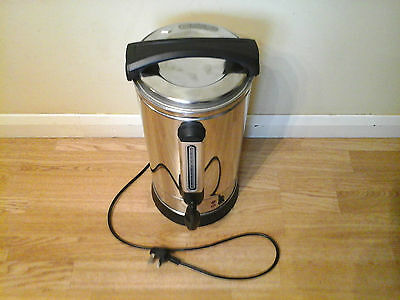 Quality 10L Electric Hot Water Urn..tea Coffee Events Catering Snack Van Kitchen
