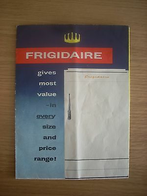 FRIGIDAIRE period promotional leaflet ACL 41/2/58