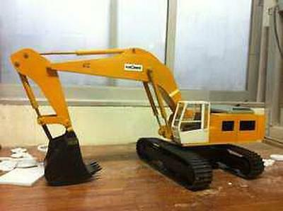 Liebherr 50 ton  Hydraulic Excavator Plans build your own Model