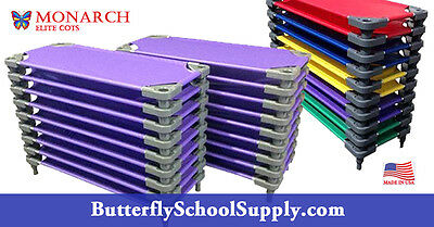 Daycare Cots 30 pack, Preschool Cots, Child Care Cots made in the USA