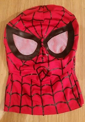Cosplay Super Hero Spiderman Mask Adult Fancy Dress Costume Party Accessory