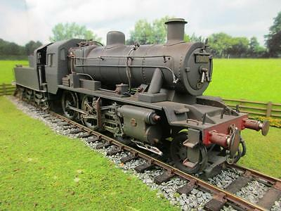 7mm FINESCALE O GAUGE BRITISH RAILWAYS STD CLASS 2 '78030' HEAVILY WEATHERED