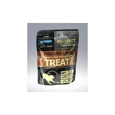 INSTINCT DOG TREAT Friandise chien 0% cereales agneau 250gr FRIANDISE