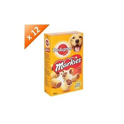 PEDIGREE, Markies - Delicieux biscuits fourres aux viandes - Aliment complementa