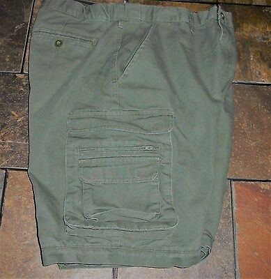 BOY SCOUTS Of America Men's 34 Waist Switchback Cargo Pants Shorts Only