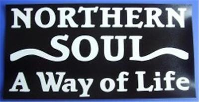 Northern Soul Car Window Sticker - Black Way Of Life