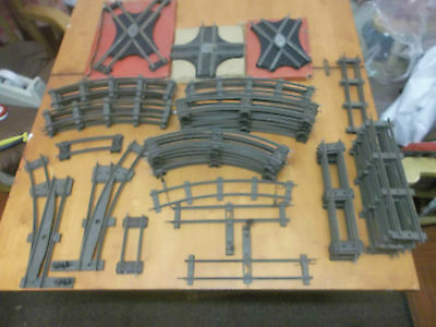 Vintage Hornby O Gauge Track Job Lot What you see is what you Get