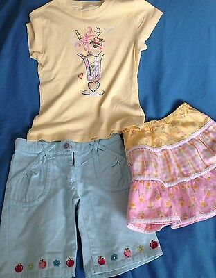 Girl's Summer Shorts & Skirt & T-shirt  Age 5 Years