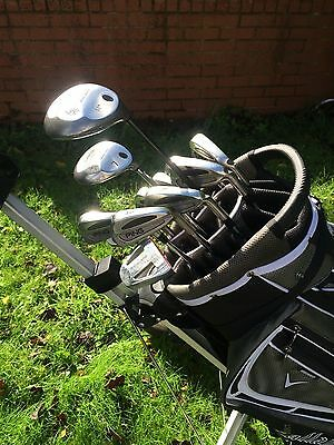 Full set of Mens Right Handed Golf Clubs-Callaway/Ping - Very Good Condition